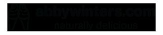 abbywinters.com logo cones black