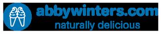abbywinters.com logo roundel blue